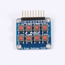 10pcs 2×4 4×2 Keypad 8 Key Board Matrix Keyboard Button for Arduino AVR PIC