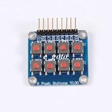 10pcs 2×4 4×2 Keypad 8 Key Board Matrix Keyboard Button for Arduino AVR PIC