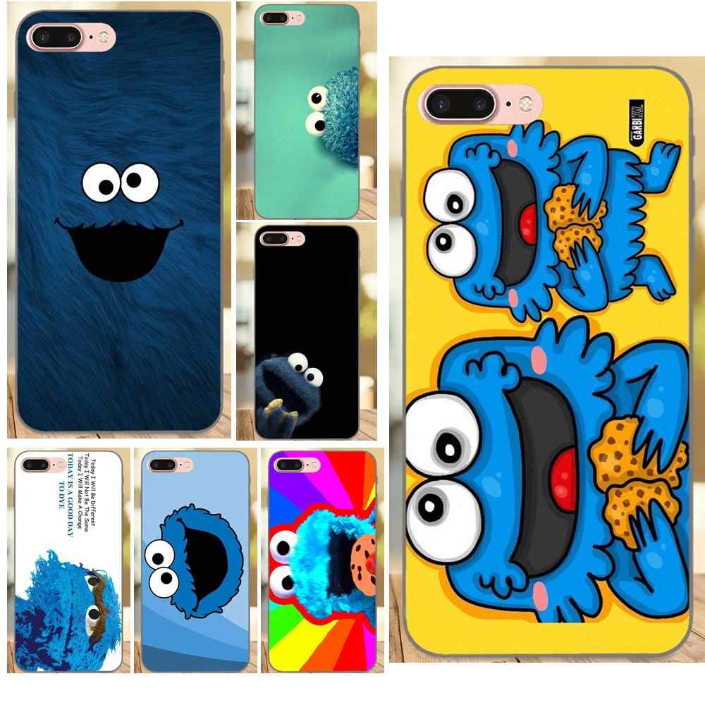 Cookie Monsters For Huawei Honor 5A 6A 6C 7A 7C 7X 8A 8C 8X 9 10 P8 P9 P10 P20 P30 Mini Lite Plus Diy Drawing TPU