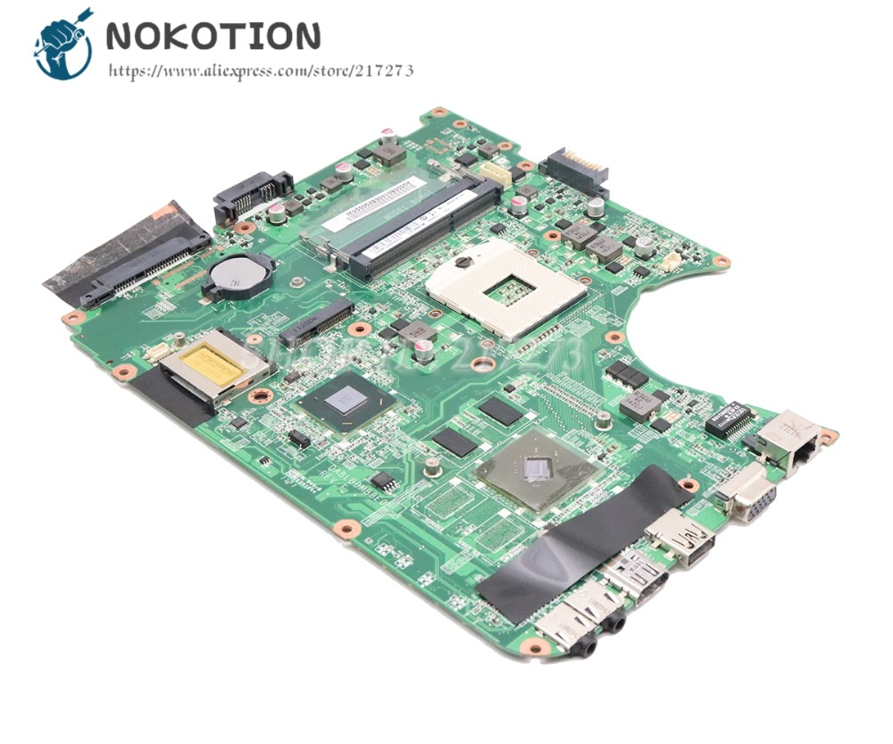 NOKOTION For Toshiba Satellite L750 L755 Laptop Motherboard HM65 DDR3 DABLBDMB8E0 A000080140 MAIN BOARD 315M graphics стоимость