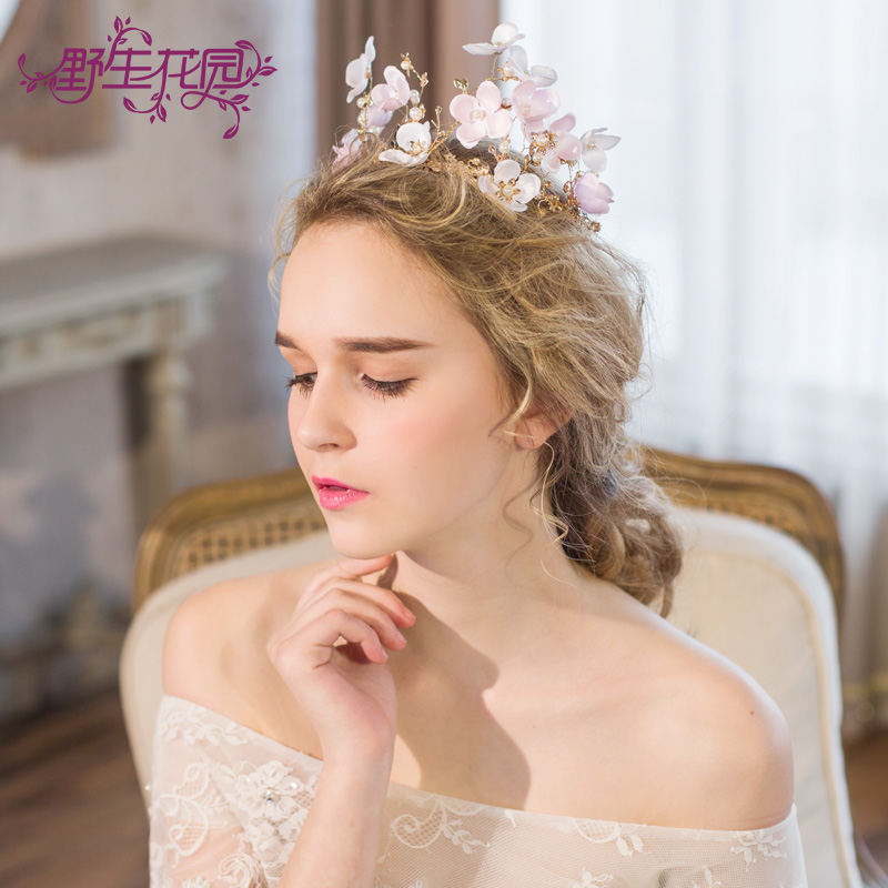 Handmade Wedding Bridal Tiaras Crowns Jewelry Bride Headpiece