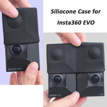 Insta360 EVO Case Shockproof Anti-scratch Silicone Protective Cover Anti-Slip Skins for 3D VR Camera