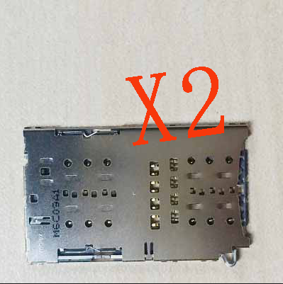 2 X SIM Reader Card Slot Holder Port Replacement Repair For Samsung Galaxy S7 Edge G9350 G9300 New In Stock + Tracking ...