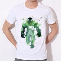 Painted Hulk Latest Men S T Shirts 2016 Men Summer T Shirt The Hulk 3D Printed