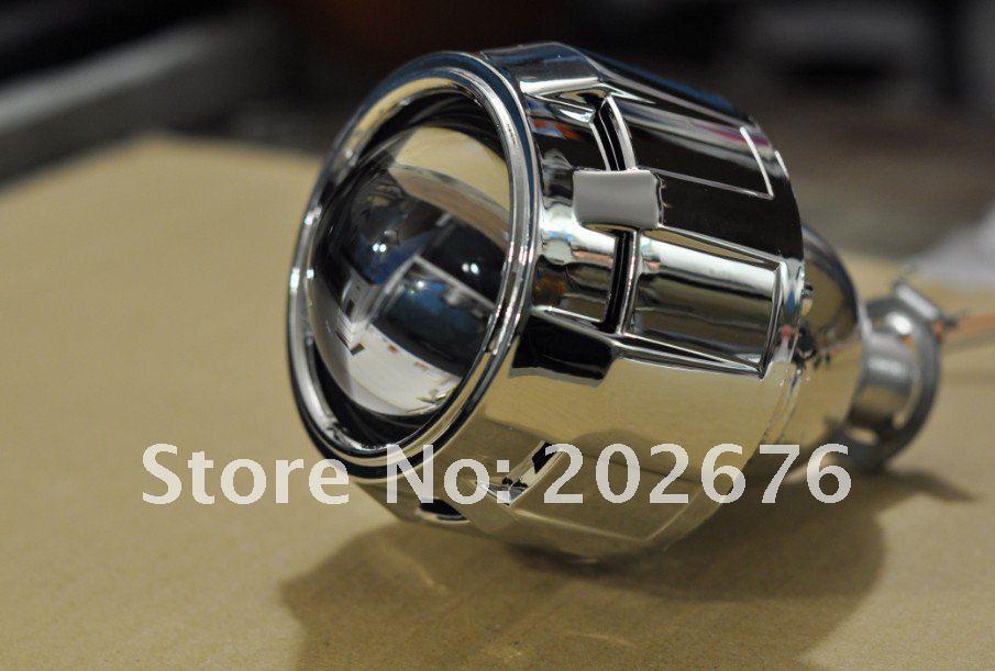 DLAND 2.5 인치 소형 숨겨 지은 BI 크세논 영사기 렌즈 6.0, HEDLIGHT H1 H4 H7 HB3 HB4 9005 RHD LHD 쉬운 설치