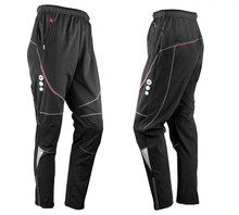 SANTIC Fleece Thermal Winter Cycling Pants Bike Bicycle Windproof Trousers