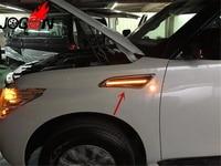 Car Styling 2pcs Accessories LED Fender Side Marker Light Turn Signal Light Lamp For NISSAN PATROL