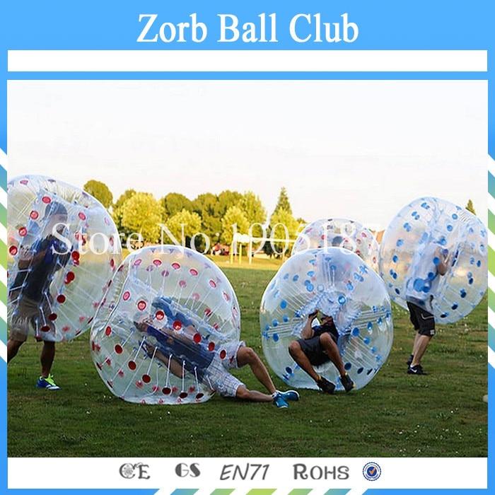 Бесплатная доставка 1.0 мм ТПУ 1.2 м Dia zorb для детей, бампер мяч, пузырь Футбол распродажа