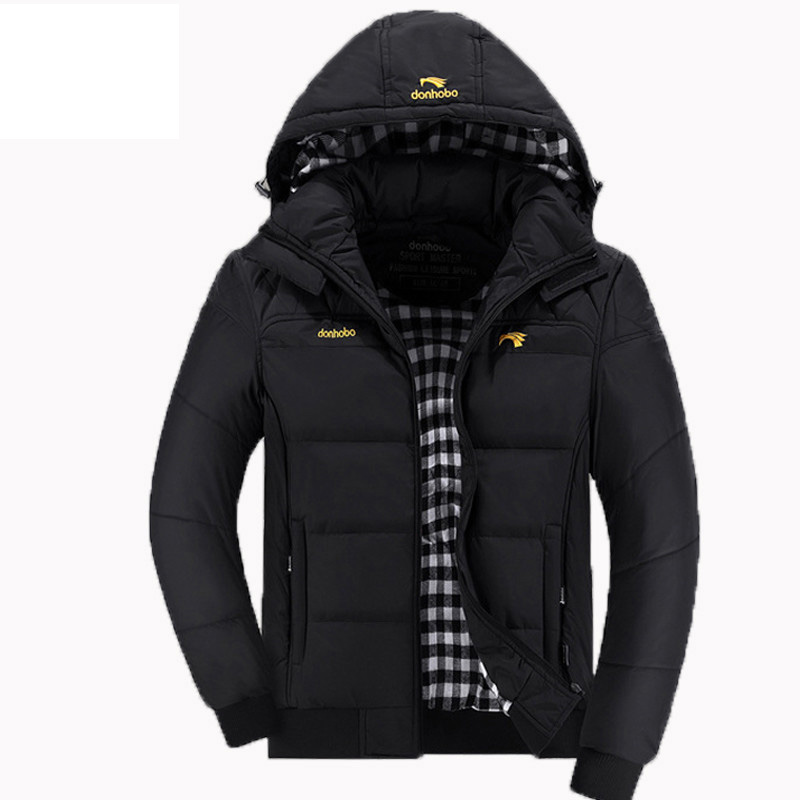 2016 hot sale winter jacket men warm thicken windproof cotton down parka men with hooded winter coat men brand clothing