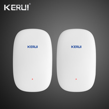 2018 Newest KERUI Z31 2PCS Wireless Vibration Detector Shock Sensor For Home Alarm System built-in Antenna Smooth Appearance