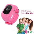 10PCS DHL Shipping Q50 GPS GPRS GSM SmartWatch SOS Call Location Locator Finder Tracker Anti-lost Wristwatch for Kid Children