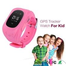 10 STÜCKE DHL Verschiffen Q50 GPS GPRS GSM SmartWatch SOS Anruf Location Locator Finder Tracker anti-verlorene Armbanduhr für Kid Kinder