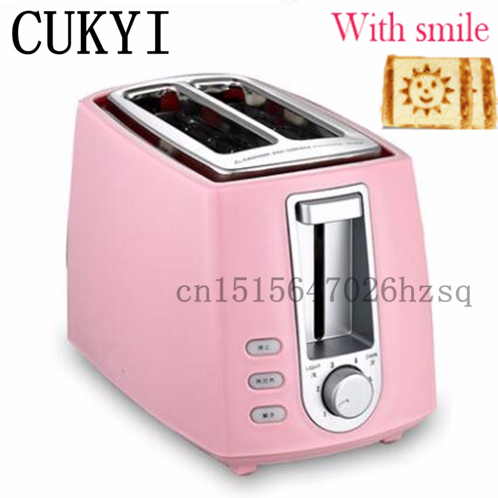 CUKYI 2 Slices Bread Toaster  household automatic toaster Breakfast spit driver  Breakfast Machine cukyi high quality slow cooker household steam stew multifunction birdsnest pregnant tonic baby supplement nutritious breakfast
