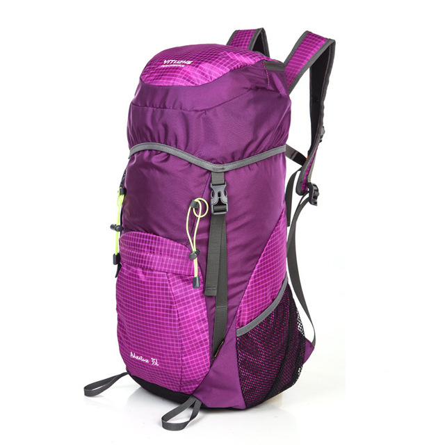 Hiking Backpacks Women's Men's Climb Camping Backpack Outdoor Fold ...