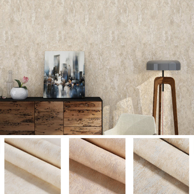 2019 New Retro Wall Paper Vintage Rustic Cement Concrete Plaster Texture Washable Vinyl Living Room Wallpaper Roll in Wallpapers from Home Improvement