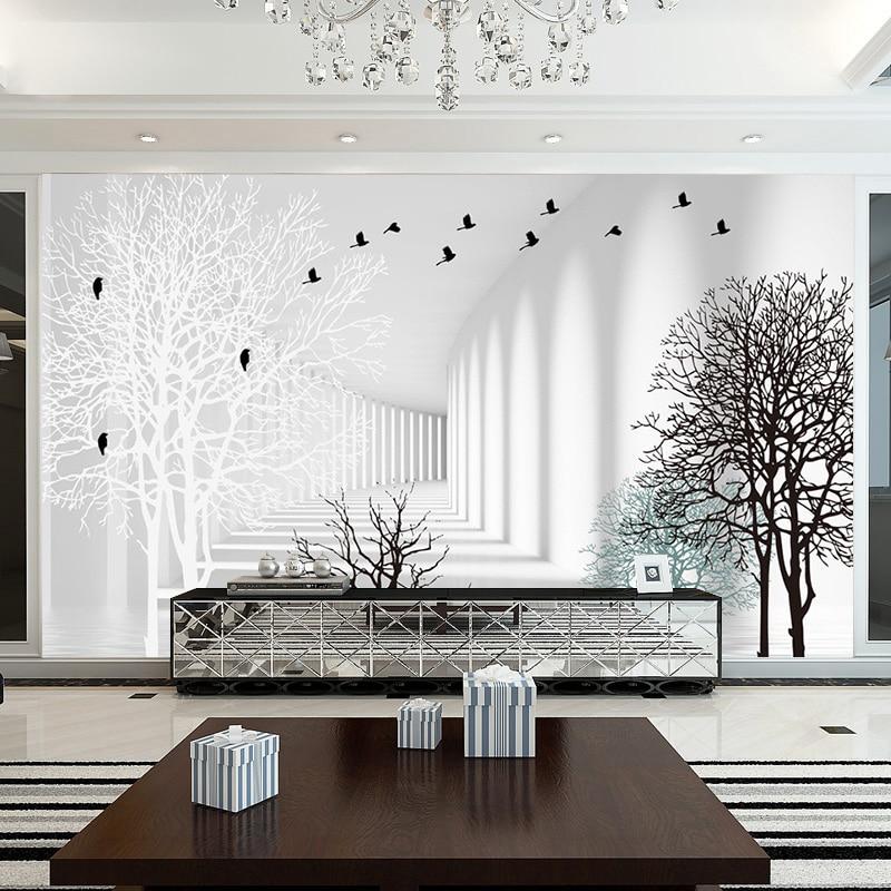 Beibehang Custom high-grade minimalistischen moderne wohnzimmer form ...