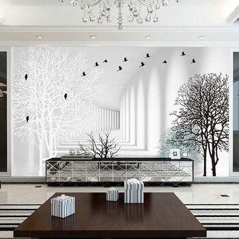 . beibehang Custom high grade minimalist modern living room mold mildew photo  3d wallpapers abstract w