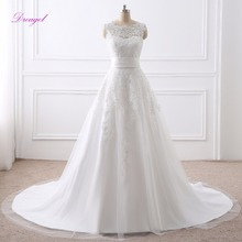fsuzwel Fmogl Detachable Train Mermaid Wedding Dresses