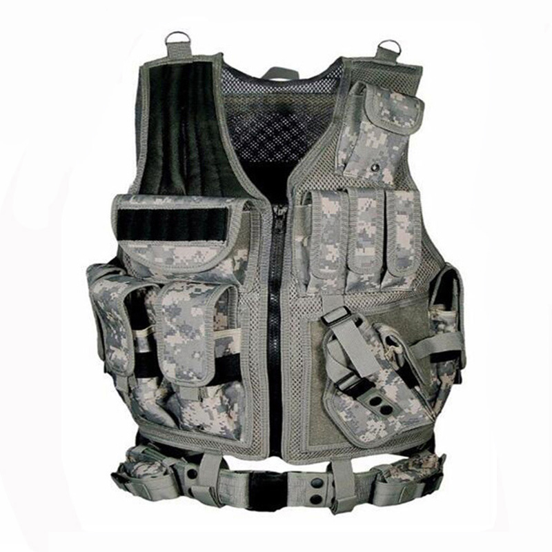 Image 3 - 2019 Army Tactical Equipment Military Molle Vest Hunting Armor Vest Airsoft Gear Paintball Combat Protective Vest For CS Wargame-in Hunting Vests from Sports & Entertainment