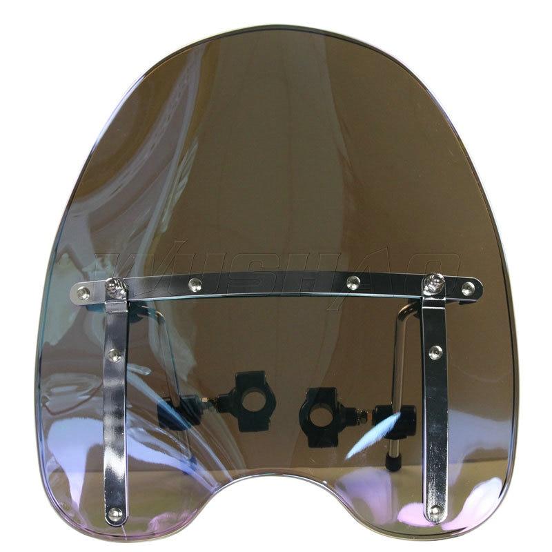 Automobiles & Motorcycles Windshield Windscreen For Harley Electra Glide Ultra Classic Limited Flhtk Peace Shrine Se Flhtcu Flhtcuse4/6/7/8 Clear Iridium Wide Selection; Frames & Fittings