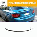 M235i спойлер багажника из углеродного волокна для BMW F22 220i 228i M235i F87 M2 2014-2019 M2 Style