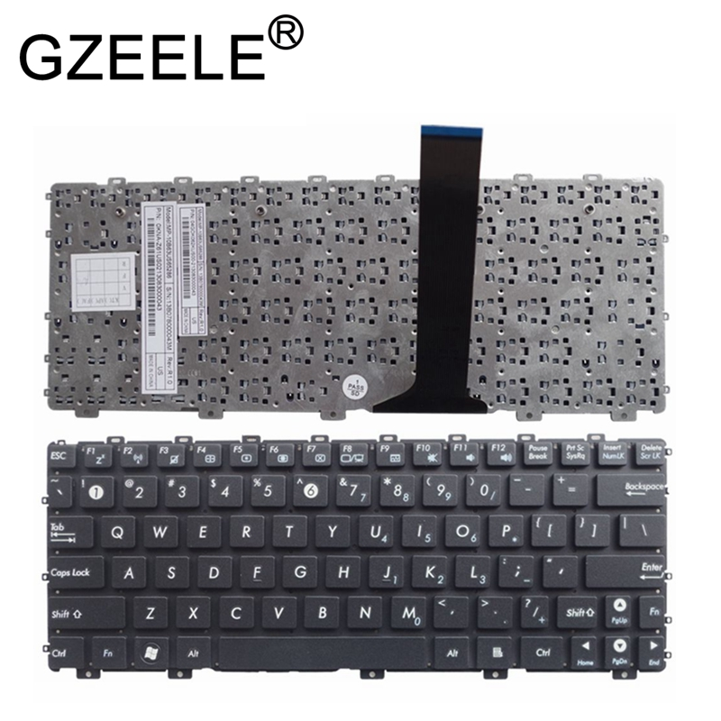 GZEELE NEW US laptop keyboard For Asus Eee PC EPC 1015 1015PN 1015PW 1015BX 1015PX 1015PD 1015TX 1015CX 1011PX 1011CH NO frame-in Replacement Keyboards from Computer & Office on