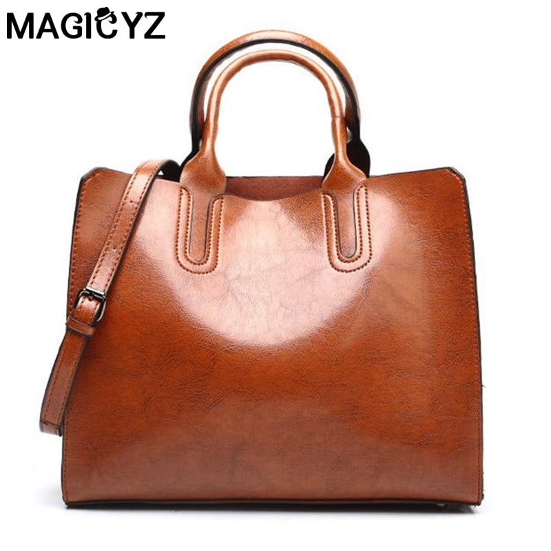 Women Leather Handbags Big Bag High Quality Casual Female Bags Trunk Tote Spanish Brand Shoulder Bag Ladies Large Bolsos leather bags handbags women famous brands big women casual bags casual tote spanish brand shoulder bag ladies large bolsos mujer