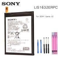 Batteria di Ricambio originale Per SONY Xperia XZ F8331 F8332 DUAL LIS1632ERPC Genuino Batteria Del Telefono 2900mAh