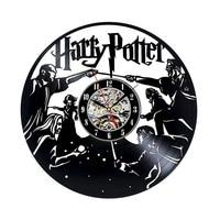 Wandklok Free Shipping Harry Potter Ethylene Base Material Quality, And The Family Decoration Design Room Art Vinyl Wall Clock