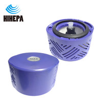 1 pcs Post Motor HEPA Filter Kit for Dyson V6 DC59 Vacuum Cleaner accessories of part # DY 96674101 & DY 966912 03