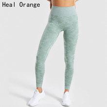 цена на High Waisted Seamless Leggings For Fitness Leggings Sport Women Fitness Women'S Sports Pants Legends Women Gym Pants Workout