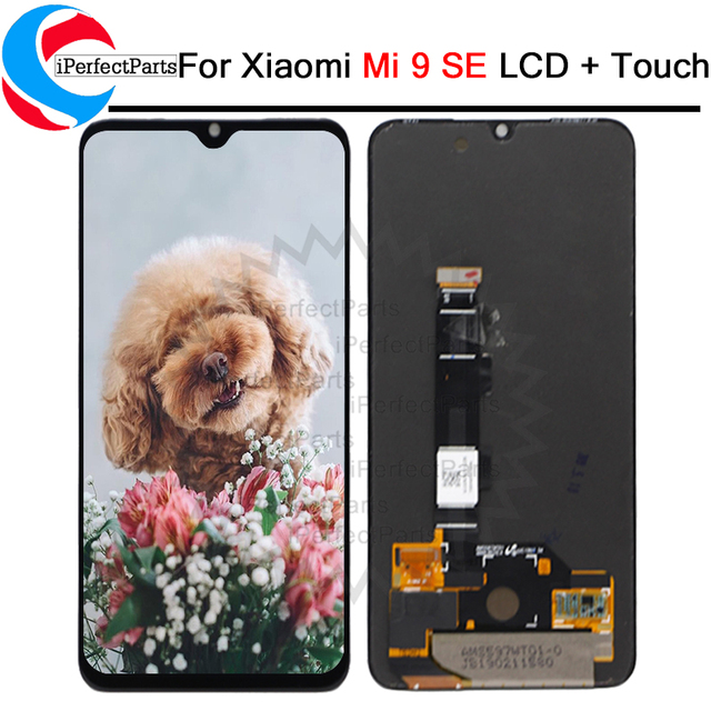 5.97 AMOLED For Xiaomi Mi9 SE LCD Display Touch Screen Digitizer Assembly Replacements Parts For mi 9 se lcd M1903F2G