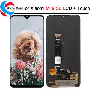 Image 1 - 5.97 AMOLED Xiaomi Mi9 SE LCD ekran dokunmatik ekran Digitizer meclisi değiştirmeleri parçaları mi 9 se lcd m1903F2G
