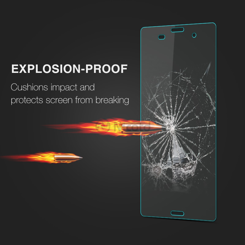 Nicotd Tempered Glass For Sony Xperia Z3 Screen Protector 9H 2.5D Phone On Protective Glass For Xperia Z3 D6633 D6643 glass Film (7)