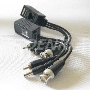 Image 4 - 10 יחידות (5 זוג) וידאו Balun HDCVI/HDTVI/AHD CCTV משדר BNC UTP RJ45 וידאו, כוח מעל CAT5/5E/6 כבל עבור מצלמה