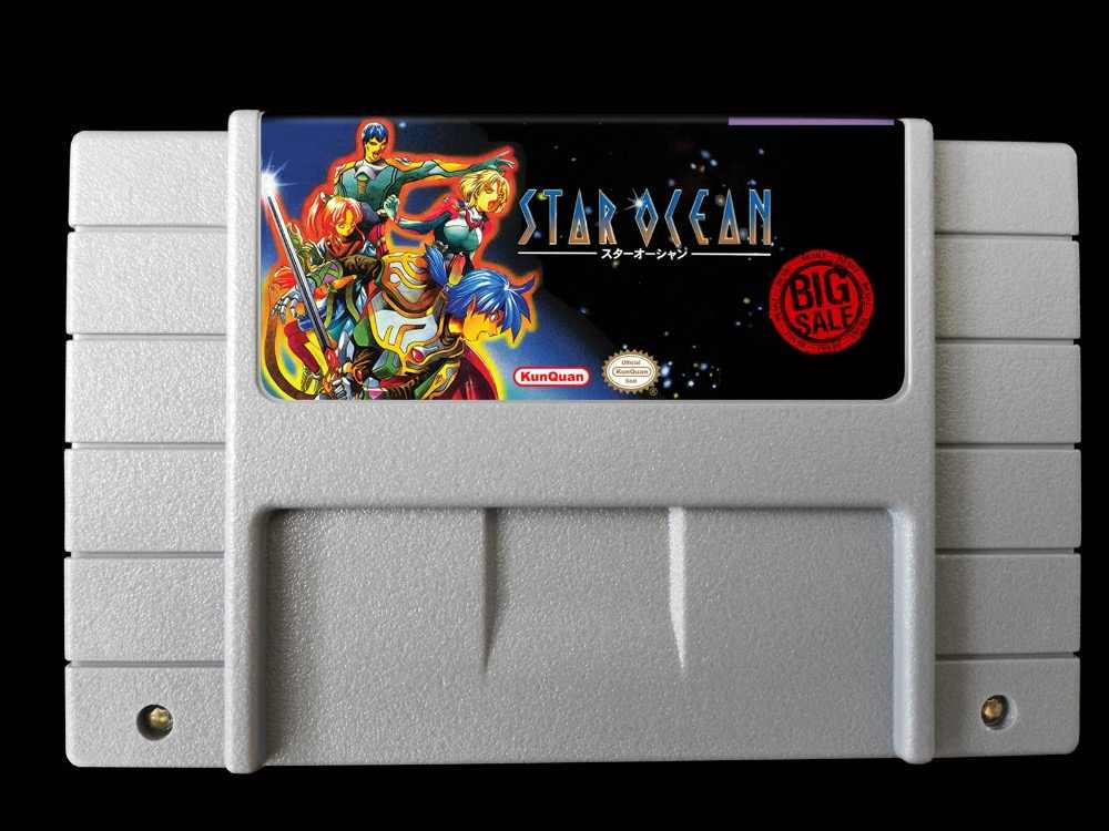 Detail Feedback Questions about Star Ocean 16bit game