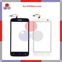 10pcs/lot High Quality For Alcatel One Touch POP 2 Pop2 M5 4.5 OT 5042 5042D OT5042 Touch Panel Glass Front Glass Lens Screen