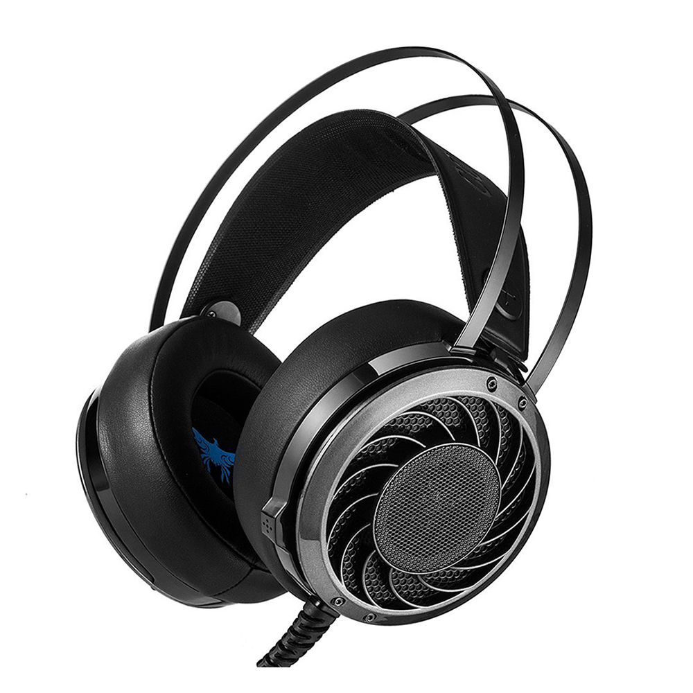 COMBATERWING M160 Headset Ultra-light Ergonomic Headphones Over Ear Stereo with Mic Noise Isolating for PC, MAC TH586