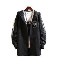 Warm Trench Coat Men 2018 Jacket Mens Overcoat Winter Jackets Mens Hooded Trench Coat Steampunk Hombre Autumn Coat Men 50Na025
