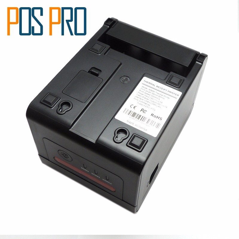 ITTP057 High Quality thermal printer 80mm,pos label printer,automatic cutter,USB+Serial+Ethernet Port,ESCPOS (5)