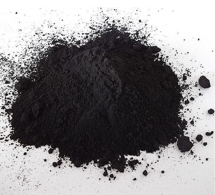 500g Black Color  Hot Selling Bamboo Charcoal Powder DIY Materials For Skin Care  Makeup Soap Powder  Free Shipping