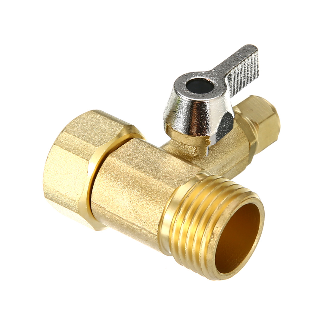 1 2 Quot To 1 4 Quot Ball Valve Water Adapter Faucet Tap Feed