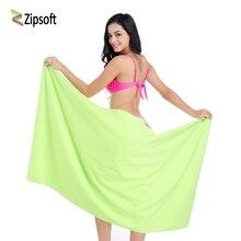 Zipsoft ультралегкое компактное быстросохнущее купальное полотенце из микрофибры антибактериальное Походное полотенце для рук и лица для путешествий на открытом воздухе