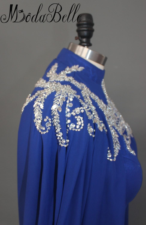 Modabelle Saudijska Arabija Muslim Večernja haljina s dugim Cape - Haljina za posebne prigode - Foto 4