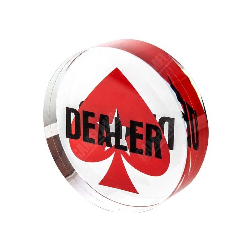 Mehrere Muster-Premium-Crystal-Dealer-Chips Texas Hold'em Poker-Casino-Chip