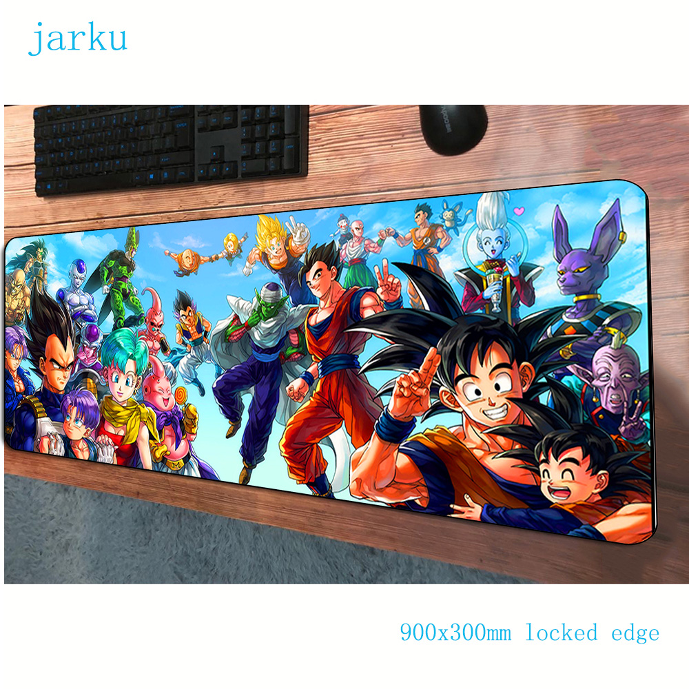 900x300x2mm Dragon Ball Pad Mouse Gaming Mousepad Gamer Mouse Mat High-end Pads Game Computer Padmouse Laptop Play Mat