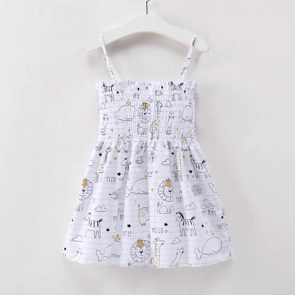 51b2d90ca4632 2018 Summer Baby Ruched Party Dresses New Baby Clothes Girl Elephant ...