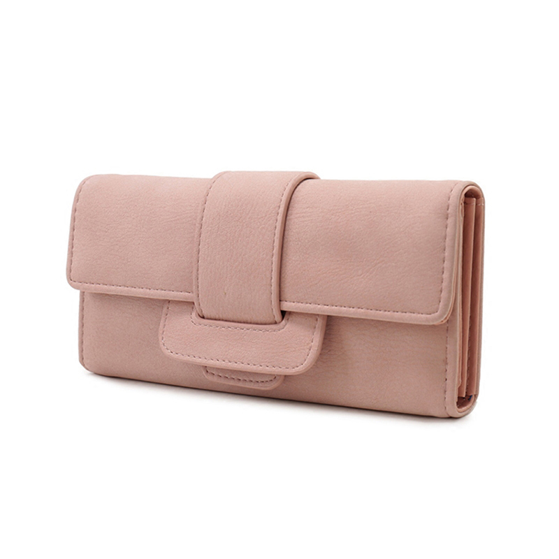 New arrival women wallet fashion long style large capacity wallets coin pocket multi-function hasp purse three fold clutch new arrival button wallet lady multifunctional purse long style zipper hasp oil wax cowhide closure huge capacity fashion han