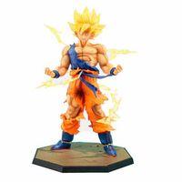 Japão Hot Vendas Anime 18 CM dragon ball z Son Goku figuras de ação Super Saiyan PVC Collectible Toy modelo para o Aniversário presente