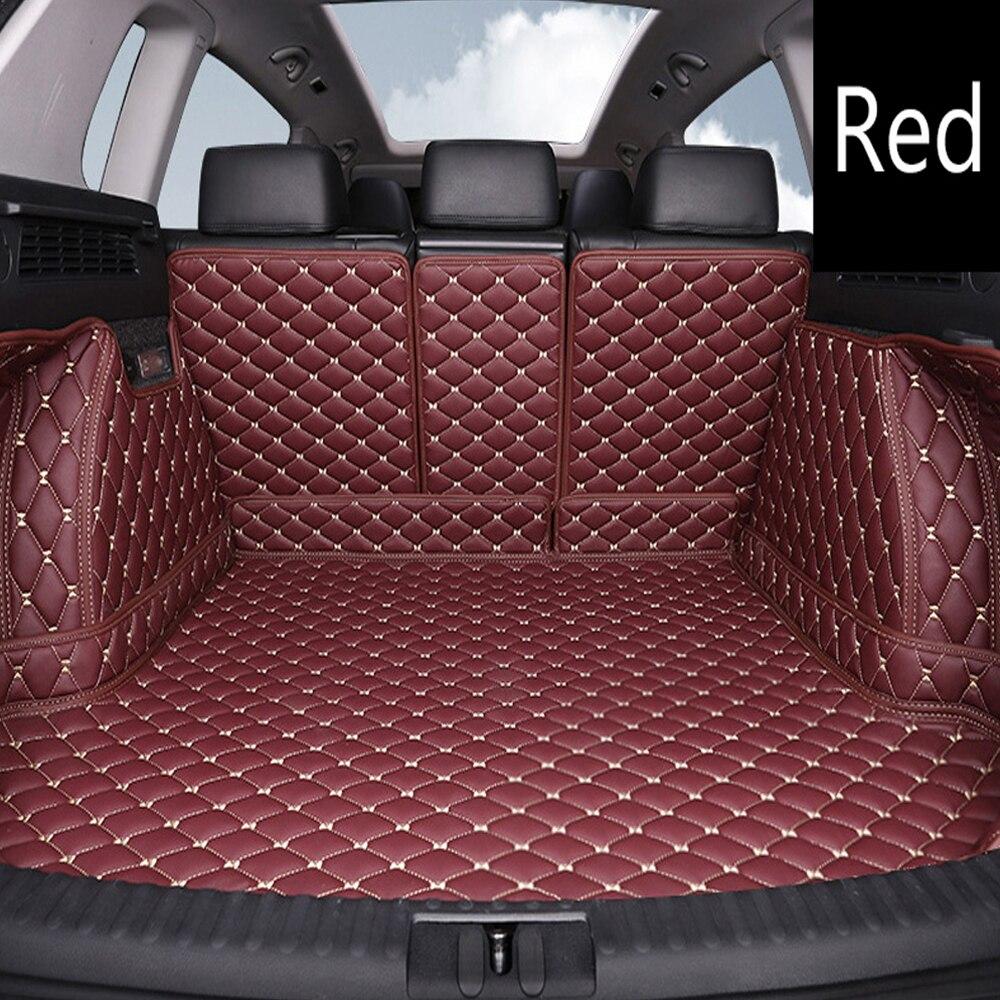 Tapis de coffre de voiture sur mesure pour Subaru Forester Outback Tribeca XV 6D tapis de sol robuste pour tous les temps